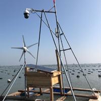 福建海上养殖场无线监控成功案例