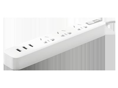 视贝USB多口充电家用多功能智能插座